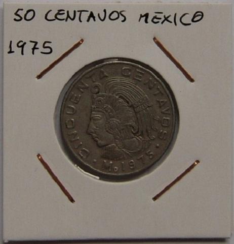 50 Centavos 1975 Mexico