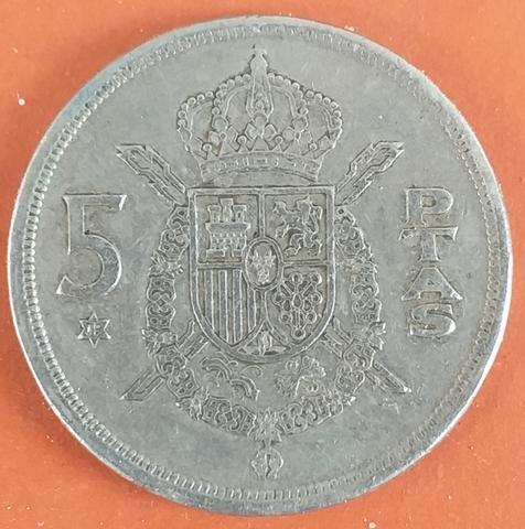 5 Pesetas 1975 Moneda