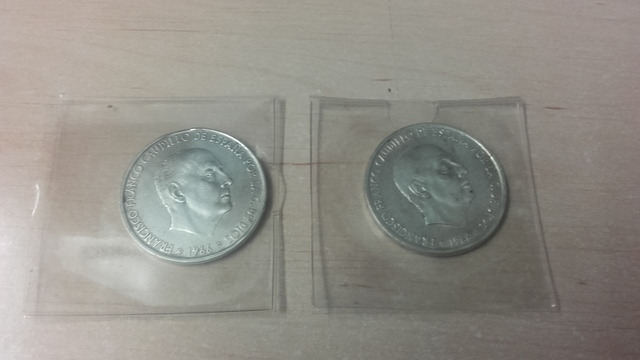 Monedas 100 Ptas