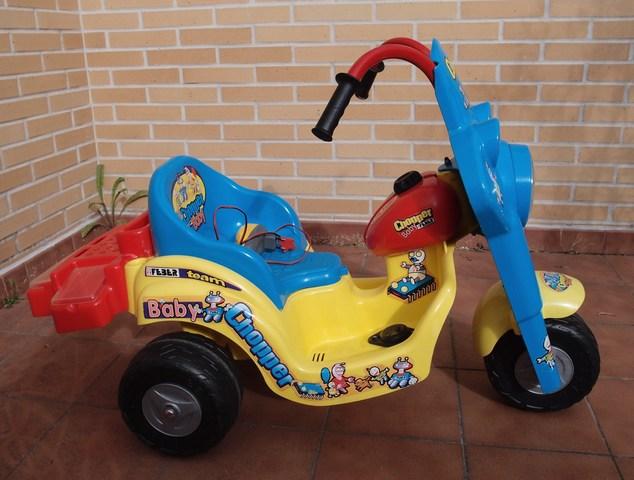 Baby De Moto Chopper Bateria Feber kuiOTZPX