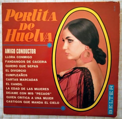 PERLITA DE HUELVA.  LP.  - foto 1