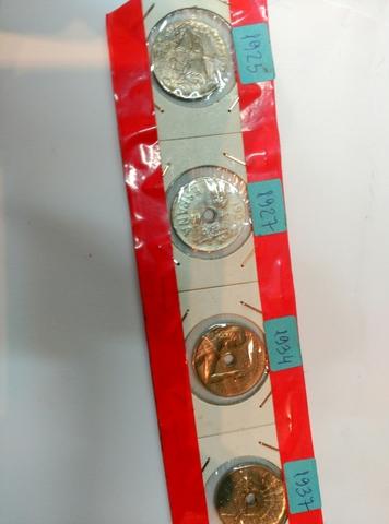 Monedas De 25 Centimos