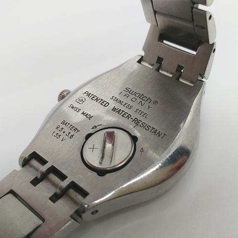 reloj swatch pulsera, para mujer, dorado, 2007, Comprar