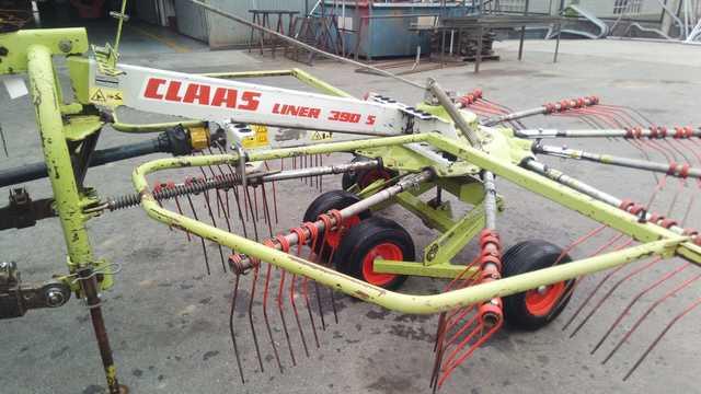 RASTRILLO HILERADOR CLAAS - LINER 390 S - foto 1
