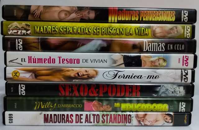 - SON 8 DVDS PORNO MUJERES MADURAS - - foto 2