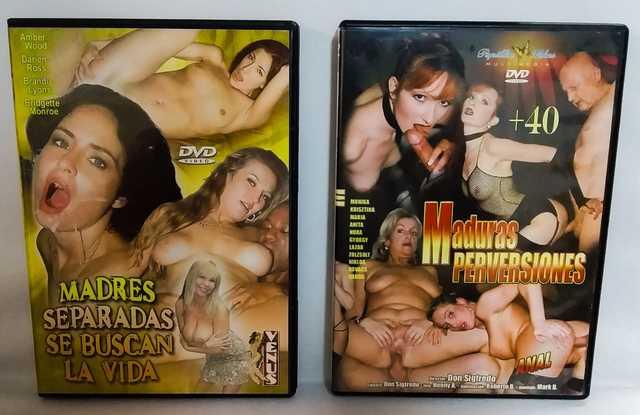 - SON 8 DVDS PORNO MUJERES MADURAS - - foto 1