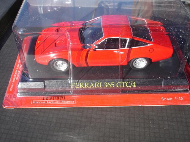 Ferrari 365 gtb//4 Daytona amarillo con vitrina 1:43 Altaya