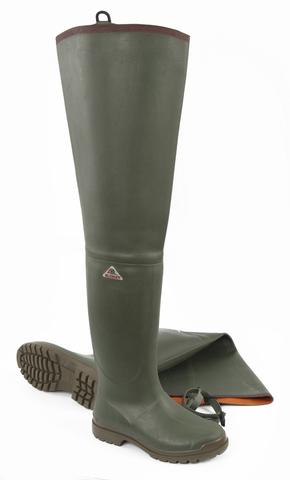 Botas de goma Angler botas de lluvia botas botas negro PVC talla 46