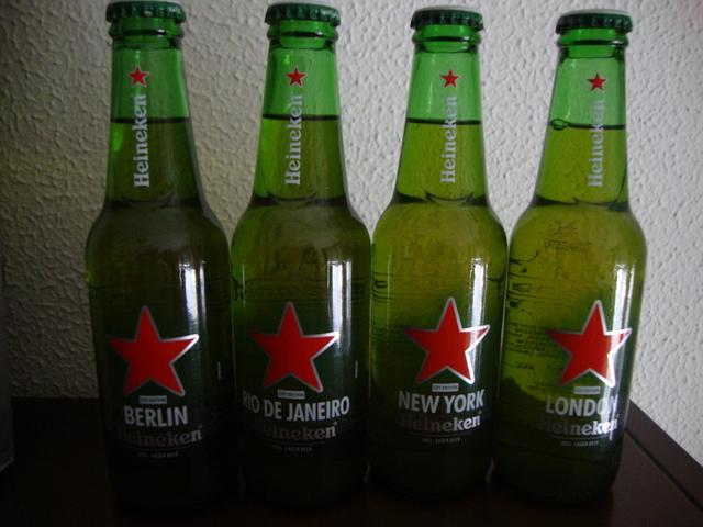 Botellas Cervezas Heineken