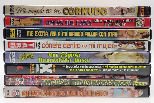 DVDS DE CORNUDOS Y CONSENTIDORES.  XXX - foto 1