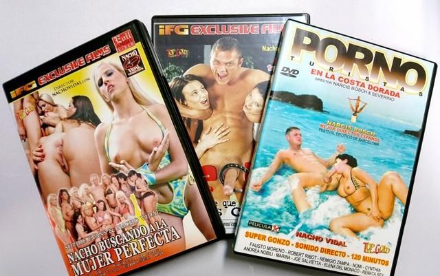 LOTE NACHO VIDAL - DVD - XXX segunda mano  Jaén