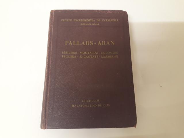 Libro Cec Pallars Aran Excursionistas
