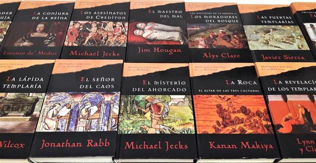 LIBROS DE UNA SERIE MISTERIOS Y ENIGMAS - foto 1
