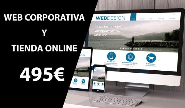 DISEÑO DE PÁGINAS WEB PROFESIONALES - foto 1