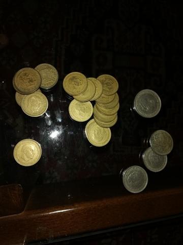 Lote De Monedas De Franco