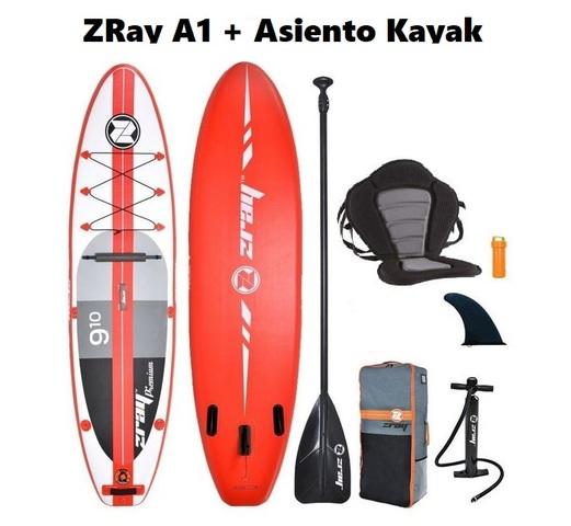PADDLE SURF ZRAY A1 + ASIENTO KAYAK - foto 1
