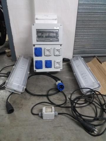 Cuadro Electrico Con Enchufes