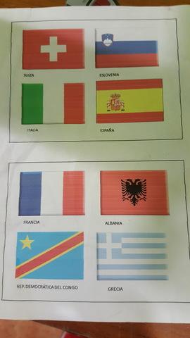 Banderas De Tela Varias