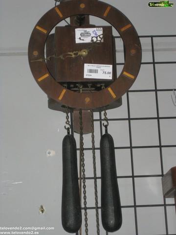 M111 Reloj Antiguo De Madera Pared