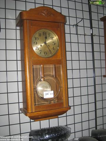 M122 Reloj Antiguo De Madera Pared