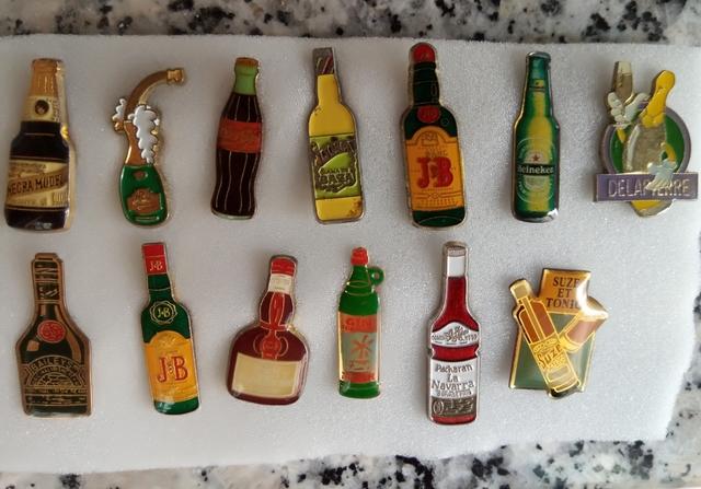 Pins Botellas De Licor