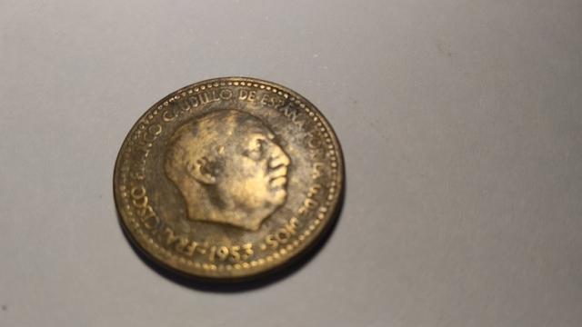 Moneda De 1 Peseta De1953 De Franco