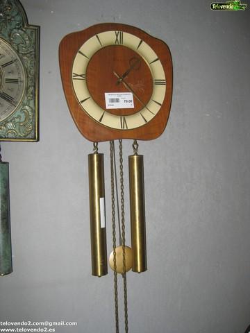 M126 Reloj Antiguo De Madera Pared