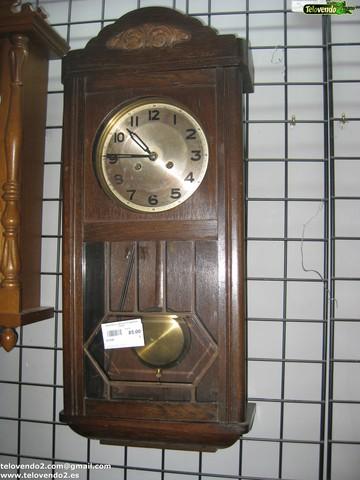 M124 Reloj Antiguo De Madera Pared