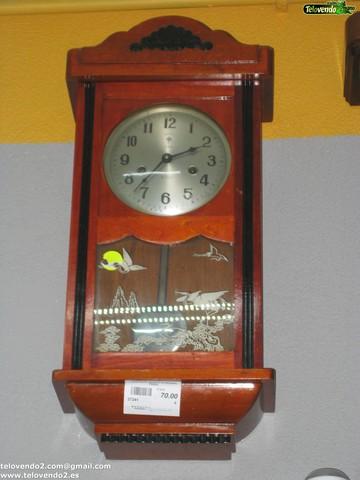 M120 Reloj Antiguo De Madera Pared
