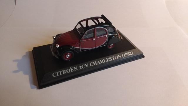 1//43 CITROEN  2 CV  CHARLESTON 1982 IXO