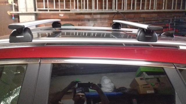 M-Way con Cerradura Aluminio Barras De Techo Barras /& Bandeja de carga de rack para adaptarse a VW Touareg 14 />