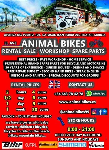 BICYCLE STORE RENTAL SALE WORKSHOP PARTS - foto 1