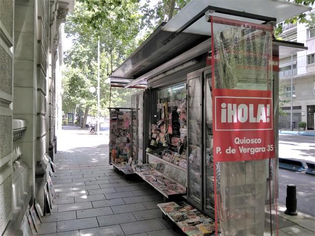 Mil Anuncios Com Quiosco Barrio Salamanca Calle Principe De Vergara 37 En Madrid