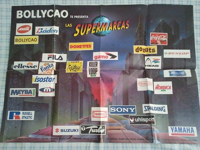 Poster Supermarcas Bollycao
