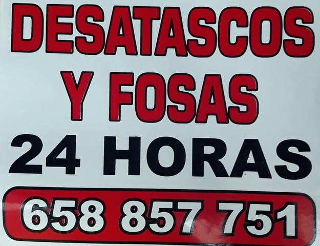 DESATASCOS Y FOSAS EN ALMONASTER - foto 1
