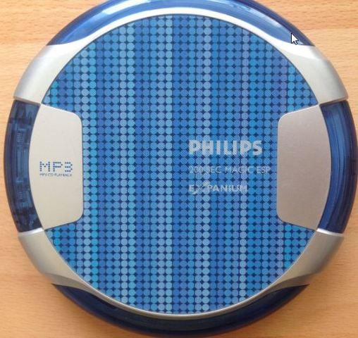 DISCMAN PHILIPS MP3 - foto 1