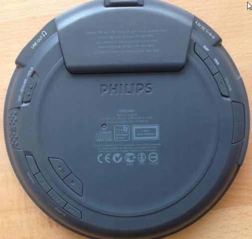 DISCMAN PHILIPS MP3 - foto 2