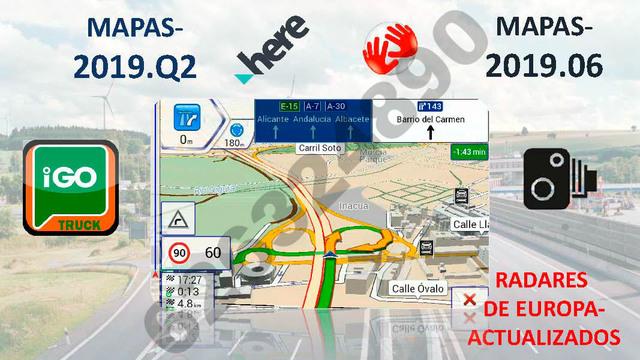 GPS TABLET HUAWEI CON SOPORTE