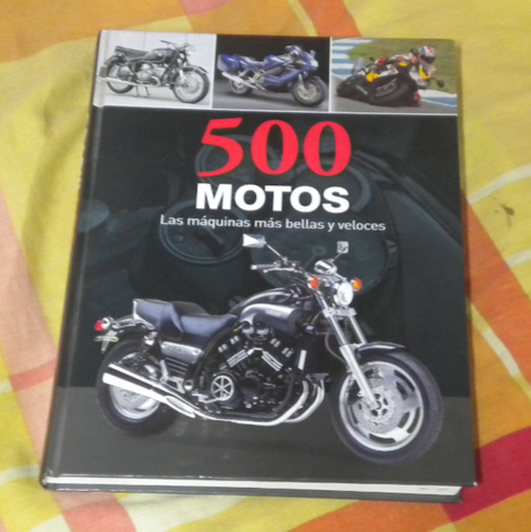 Libro 500 Motos