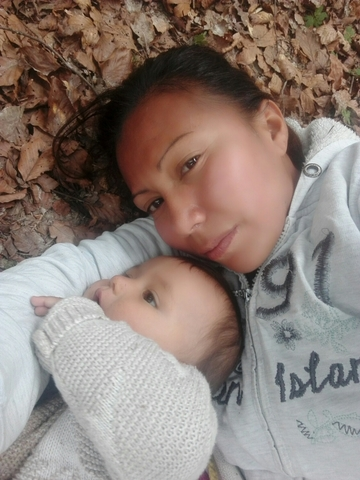 Madre soltera sin trabajo en casting