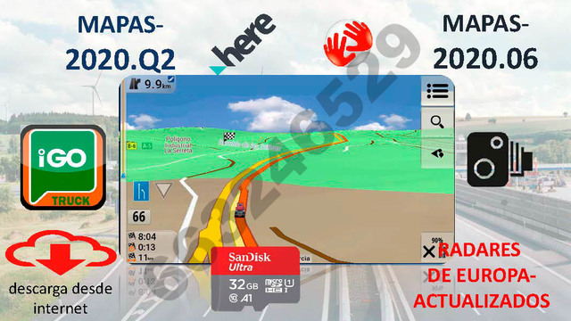 IGO NEXTGEN TRUCK - PROGRAMA GPS, ANDR
