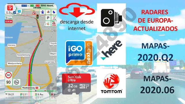 IGO NEXTGEN PAL -ANDROID, PROGRAMA GPS