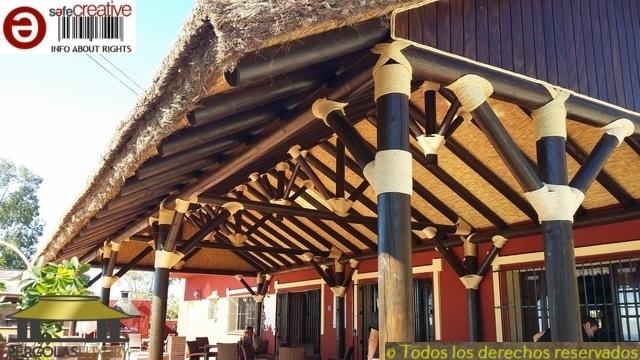PERGOLAS JUNCO AFRICANO BREZO PAJA REF. 1 - foto 3
