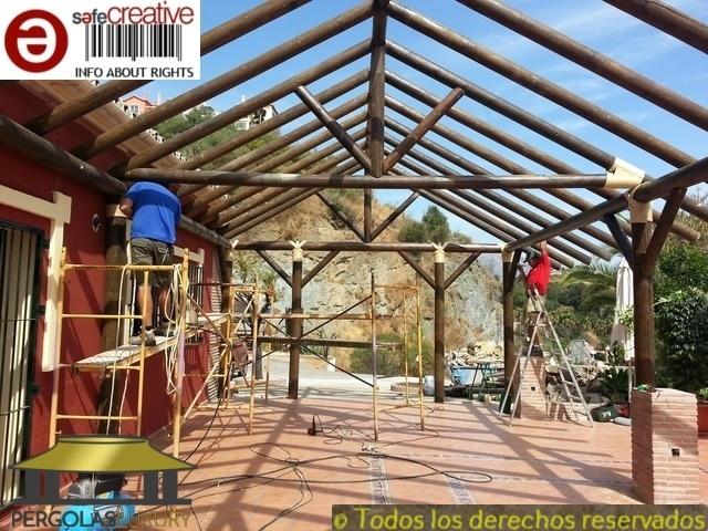 PERGOLAS JUNCO AFRICANO BREZO PAJA REF. 1 - foto 7