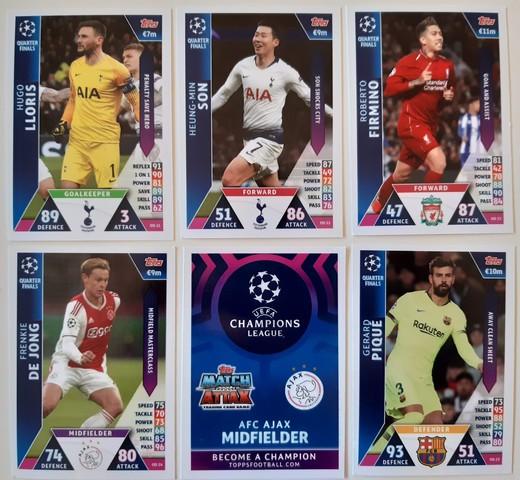 2 edición limitada sticker sin abrir 1a Topps liga 2016//17 35 sticker