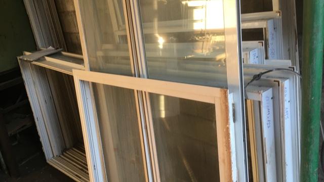 Ventanas De Aluminio Blanco Cristales