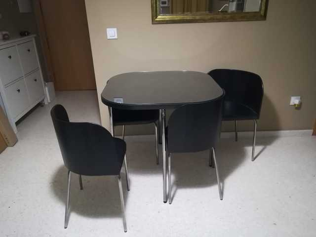 MIL ANUNCIOS.COM - Mesa sillas ikea. Muebles mesa sillas ...