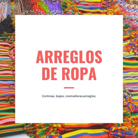 ARREGLO DE ROPA.  - foto 1