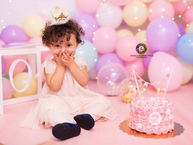 FOTOS DE SMASH CAKE CUMPLEAÑOS BEBE - foto 1