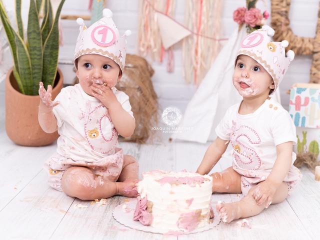 FOTOS DE SMASH CAKE CUMPLEAÑOS BEBE - foto 3